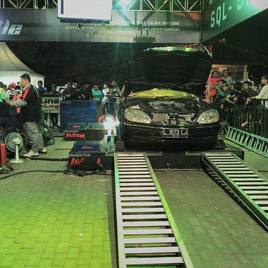 Black Dyno Dynomachine Mercedess600 V12 S600 12cylinder Champion