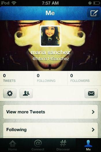 Just made a twitter ! Follow me ,I'll follow back ^.^