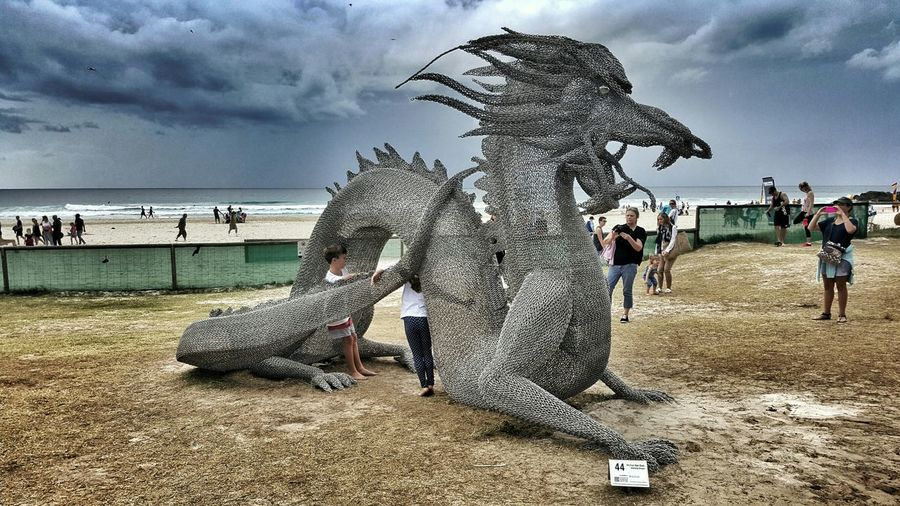 Chinese Dragon - Swell Sculpture Festival