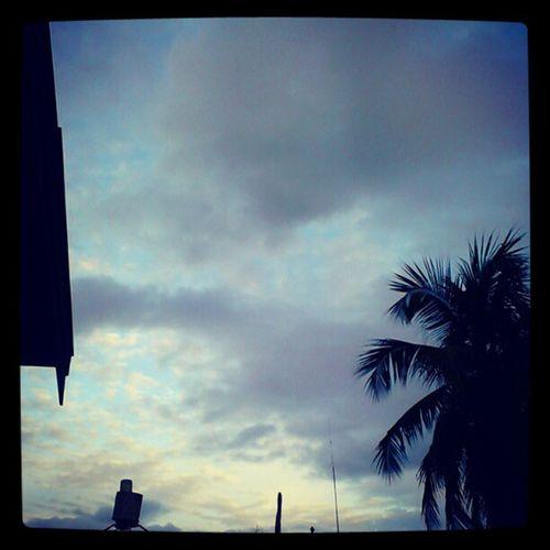 Palangkaraya's sky .. At beauty afternoon .. Photooftheday Huntingphoto Skyfall Palangkaraya punyaindonesia blackandblue instagram instagood instafocus instaaaaah ..