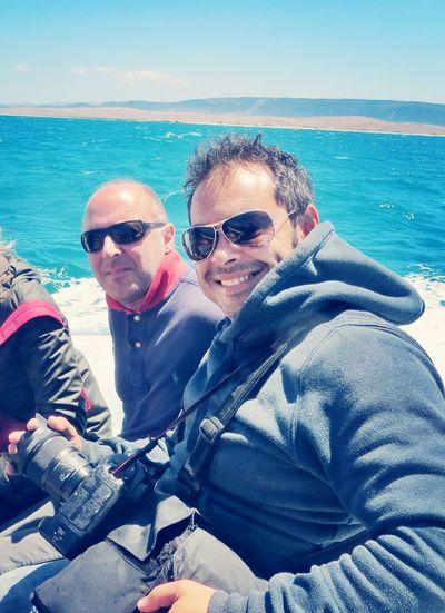 Tuna fishing: back to shore. Thats Me