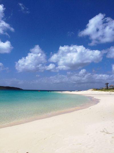 与那覇前浜 の晴れの風景。トライアスロンの舞台としても知られた場所になっている。 Sea Beach Sky Horizon Over Water Sand Scenics Nature Beauty In Nature Shore Tranquility Tranquil Scene EyeEm Best Shots EyeEm Nature Lover Life Is A Beach