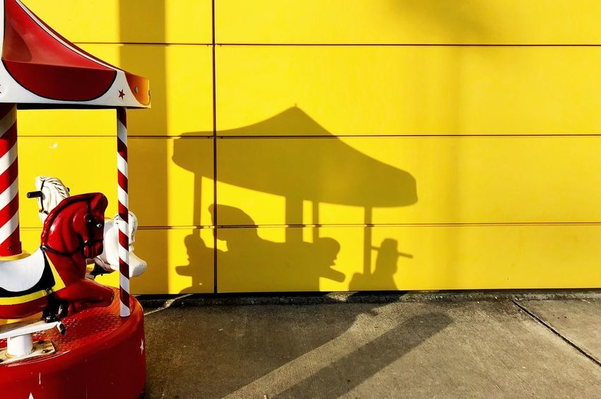 #yellow Yellow Shadow Wall - Building Feature Sunlight Built Structure Architecture Nature Building Exterior Sign Focus On Shadow Day Outdoors Creativity No People
