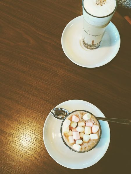 Food And Drink Cappuccino Brown Sugar Coffee - Drink Drink Marshmallows Marshmallows Coffee Marshmallow Marshmallow Time!  Mix Yourself A Good Time Be. Ready. Food Stories