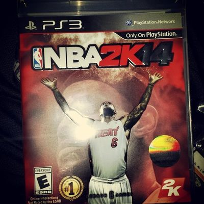 It is here!!! 2k Lebron cnba Ps3 Nerd gamer king videogames beast TimTarantino psn followme who gettin murked first?