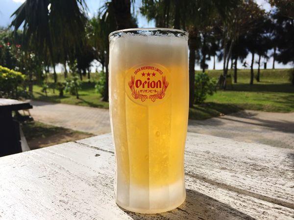 Orion beer in Araha beach Beer Orion Beer Araha Beach Okinawa First Eyeem Photo