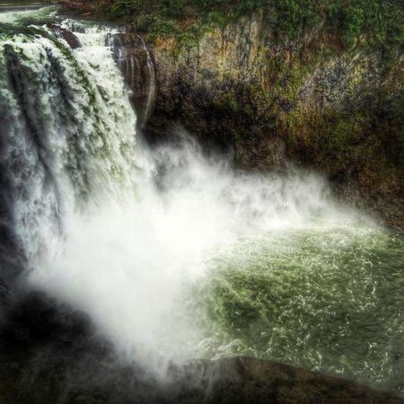 Snoqualmie Falls, Washington. Nature Waterfall Nikon Washington