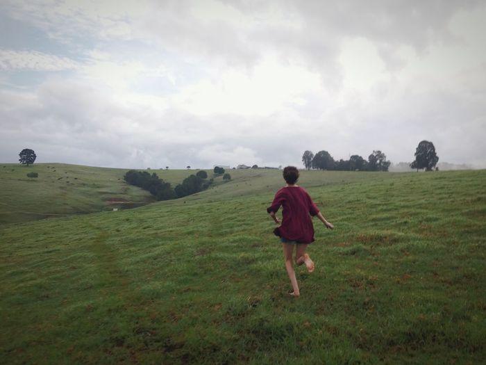 Running Farm Life Freedom Life