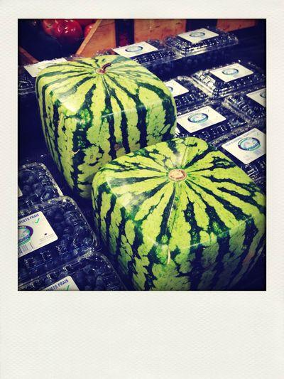 U$ 200 square watermelon.... Luxury Fancy Vancouver Fruit