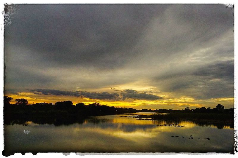 Sunset in South Florida. Check This Out Sunset Florida Hanging Out Scenics Sunset_collection