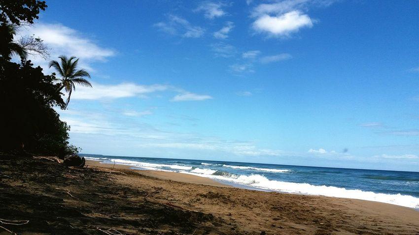 puerto viejo limon costa rica Sea Beach Horizon Over Water Water Nature Beauty In Nature Sky