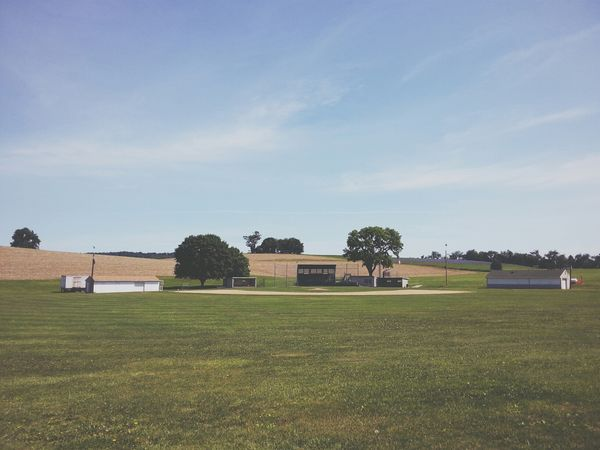 Central Pennsylvania :: Small town baseball field Landscape Shootermag AMPt_community Pennsylvania
