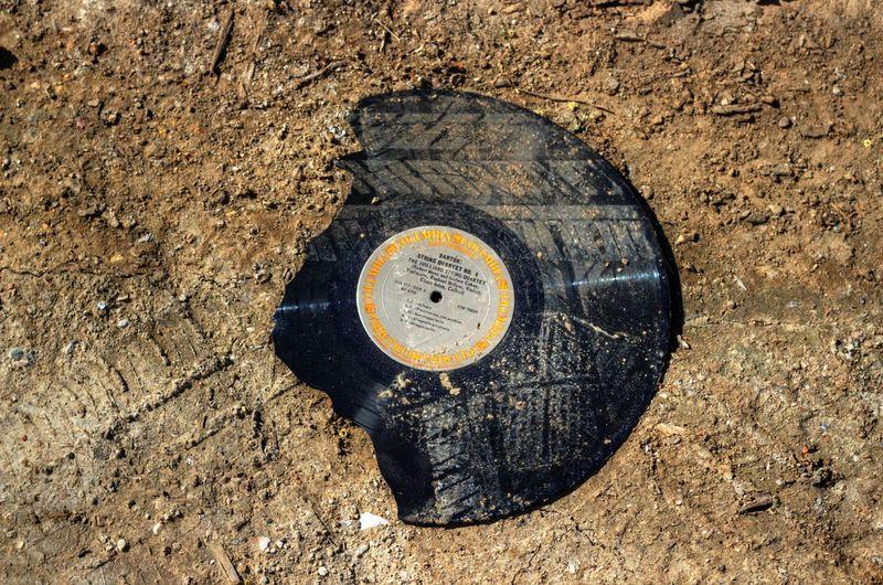 Berkeley Berkeley, CA California Vinyl Record Broken Dirt Ground