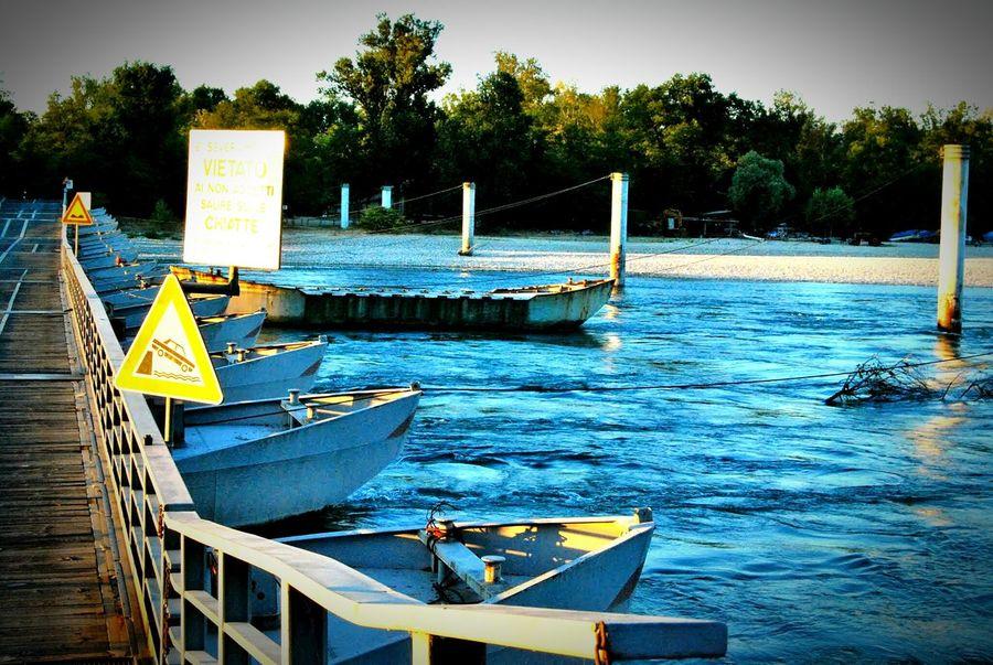 Water Boat Bereguardo