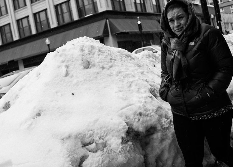 Downtown New Bedford - Winter 2015 // Streetphotography Black And White EyeEm Best Shots Winter Samsung Nx300