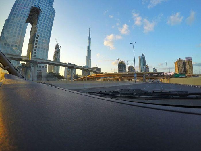 Burj Khalifa Dubai UAE United Arab Emirates Morning