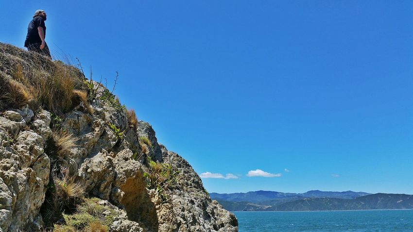 Adventure Buddies Showcase: January Wellington Harbour Hot Day