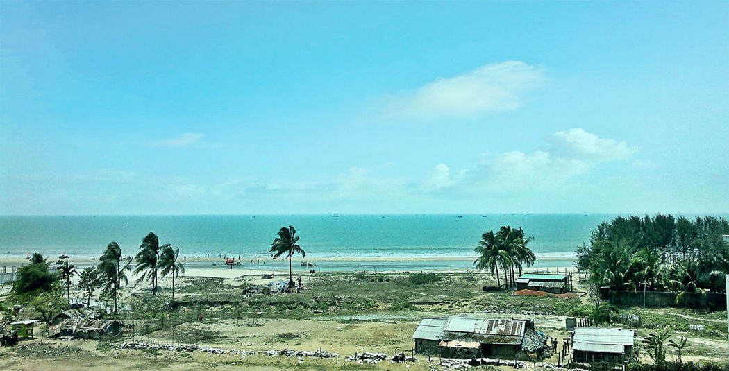 A view from hotel room of Coxsbazar Traveling Clouds And Sky Check This Out Hello World