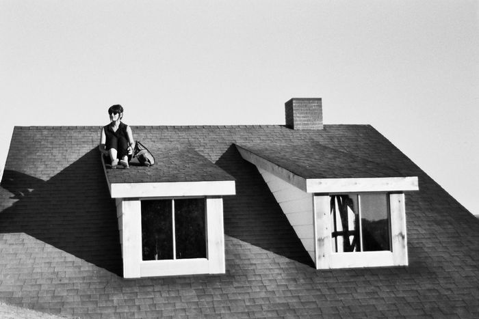 Rooftopping in Seattle - Film Is Not Dead