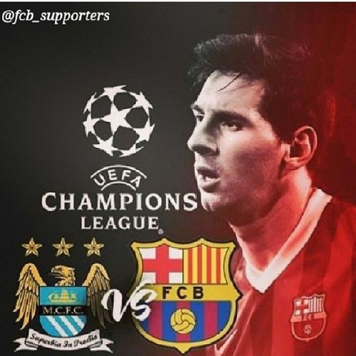 Cant wait for this match to start. ... the most awaited match of the season MANC VS BARCA ...... Viscabarca