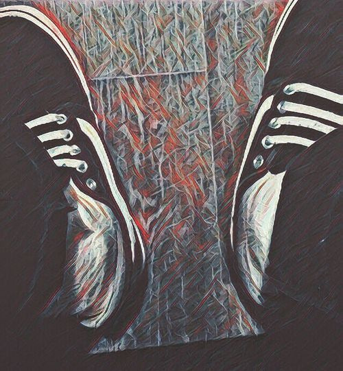 Over thinking Indoors  Pattern No People Close-up Day First Eyeem Photo Shoes Art Photography
