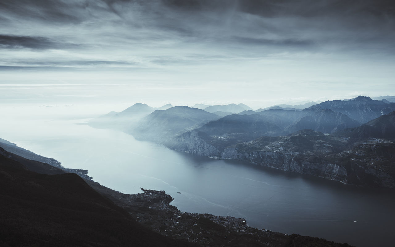 Beauty In Nature,  Cloud - Sky,  Day,  Fog,  High Angle View