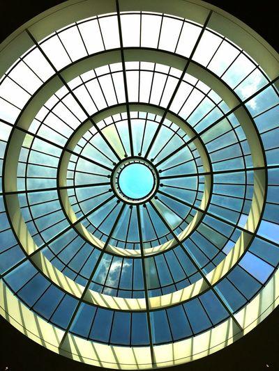 Roof Neue Pinakothek München Geometric Shape Circle Pattern Dome Architecture Built Structure Shape