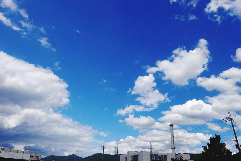 台風一過 Sky_collection Sky And Clouds Bulue Sky