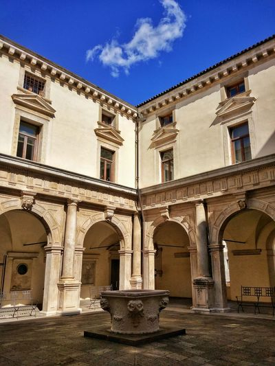 Padova Padovacity Padua Padova, Italy Palazzo Bo BO Architecture Arch History Built Structure No People Travel Destinations Day Sky Building Exterior Outdoors