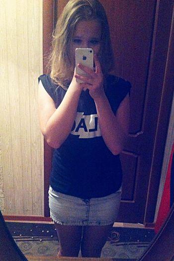 Miniskirt Favourite Black Top