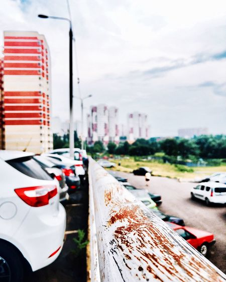 Car Transportation Land Vehicle Mode Of Transport Sky Outdoors Day Focus On Foreground Road No People City Close-up Architecture Eye4photography