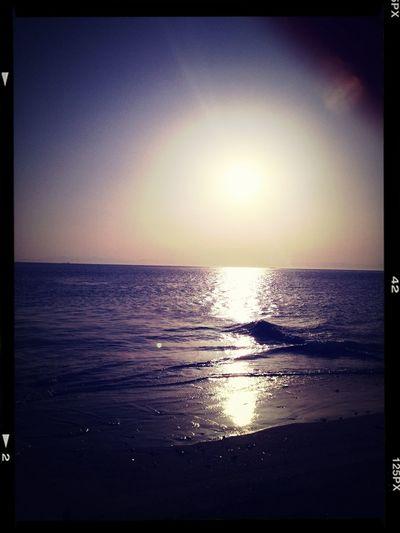 やっぱり海はいいね〜♡。゚.(*♡´◡` 人´◡` ♡*)゚♡ °・