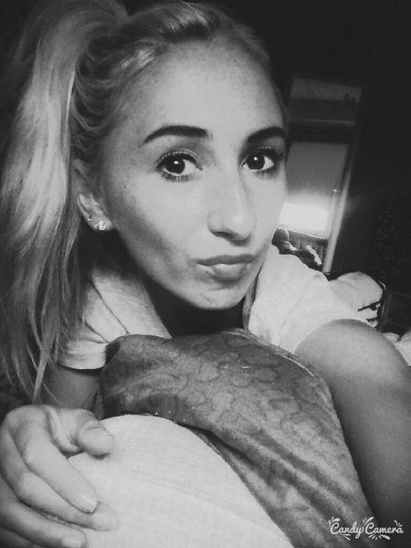 Me Polish Girl # Blonde ♡ Chil Out #lazy day blackandwhite