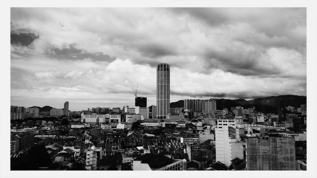 Above the rest :) Black And White Cityscapes Pulau Pinang Amazing Architecture