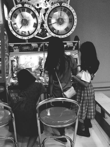 Girls Child Real People People Childhood Indoors  EyeEmNewHere Arcade Games Arcade Machine ArcadeGirl