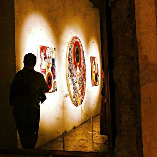 Takashi Murakami japanese contemporary art at the mirror The Moment - 2014 EyeEm Awards Japanese Artist Mirror Milan