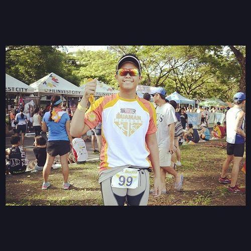 Finished my 2nd duathlon race. What a good race kahit walang place. Duaman X2, your next! Unofficial time of 1:39 (6km run - 20km bike - 4km run). Thank you Lord for keeping me safe. ?☺??? Duaman Duathlon Swimbikerunph Sbrph run bike finisher