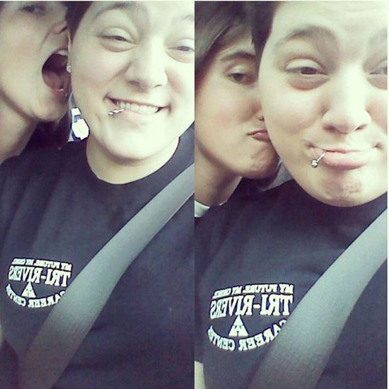 We're a little gay and dysfunctional. ♥♥ Iloveher WCW Womancrush Bitearly mybabygirl girlfriend shesthecuteone toofab4you