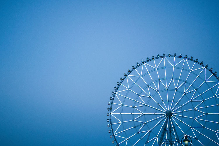 Sky Wheel. Streetphotography EyeEmBestPics EyeEm Nature Lover EyeEm Best Shots Eye4photography  Sky_collection EyeEm Best Edits Hello World Life Sky Tokyo Blue Urbanphotography Urban Geometry Geometric Shapes Architecture Pmg_tok Market Bestsellers October 2016