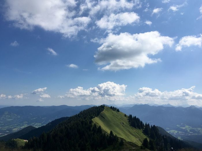 Brauneck Mountain Top Bavarian Mountains  Mountain Alps Mountain View Hiking Wanderlust