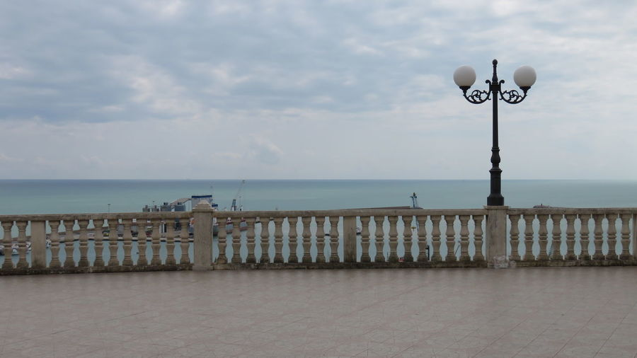 Abruzzo - Italy Balcony View Beauty In Nature Cloud - Sky Horizon Over Water Lamp Nature No People Observation Point Ocean Perching Railing Scenics Sea Seaside Shore Sky Terrace Tranquil Scene Tranquility Water Waterfront