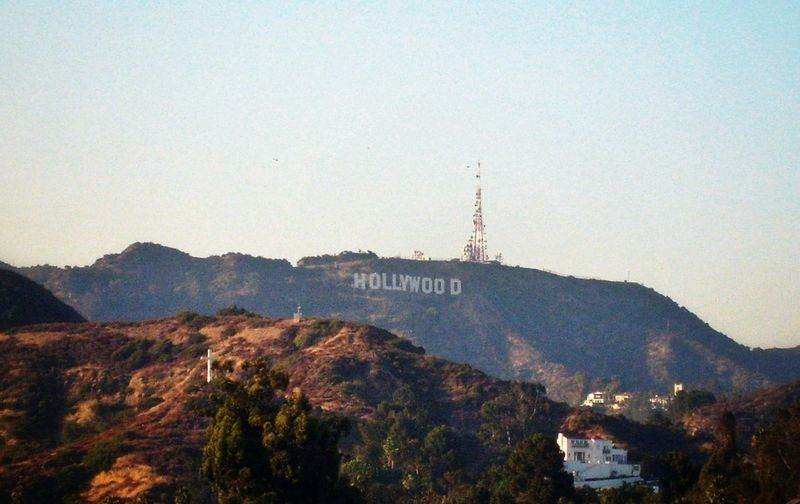 Los Angeles, California Hollywood Sign So Original.. Landscape Summer 2011