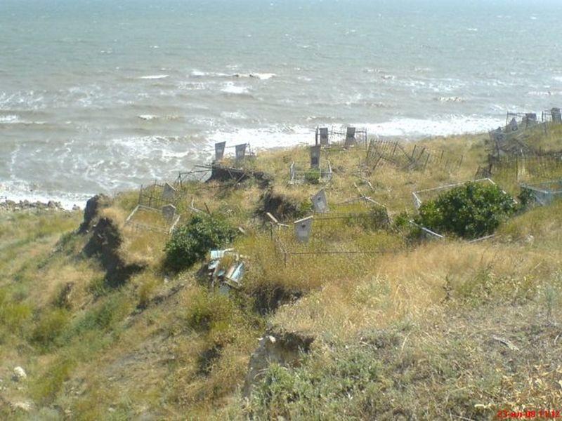 Kerch Graveyard Sea Cliff