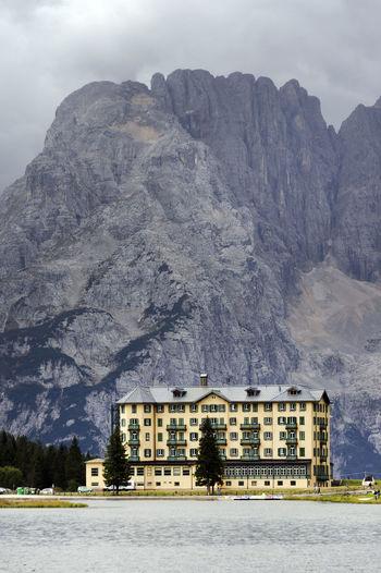Cortina Cortina D'Ampezzo Cortinas Dolomites, Italy Holiday Landscape Mountain Resort Travel Tre Cime Tre Cime Di Lavaredo Vacations