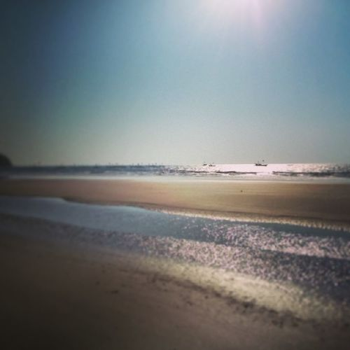 Walking down the beach.. Beautiful Afternoon Beach Timeoff adventure sun sunrays clearblue clearskies coolbreeze