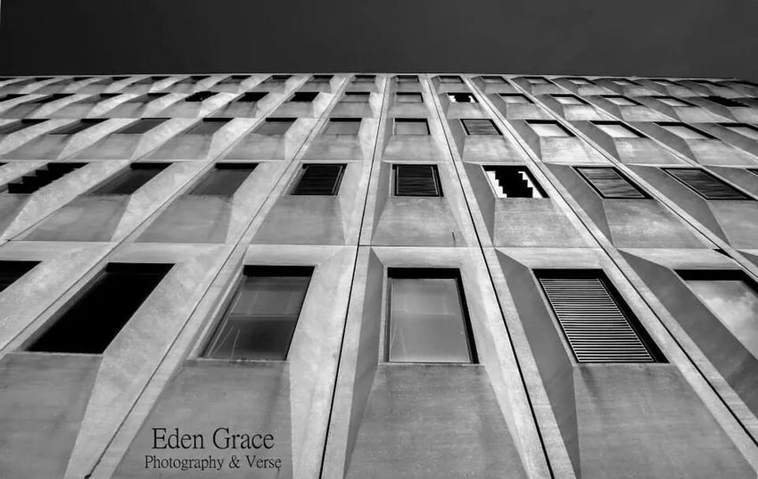 Architecture Monochrome Blackandwhite Photography Lookingup Another one of yesterday's shots in monochrome.