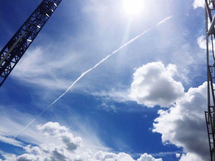 Sky Low Angle View Cloud - Sky Nature Sun Outdoors Day Cloud