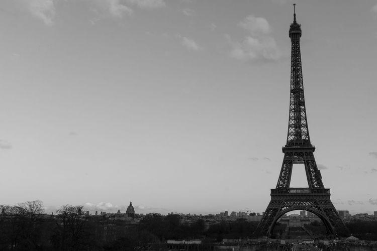 Eiffel Tower Love Paris ❤ Paris, France  Architecture Blackandwhite Built Structure City Eiffel_tower  Eiffeltower No People Paris Eiffeltower Tourism Tower Travel Travel Destinations