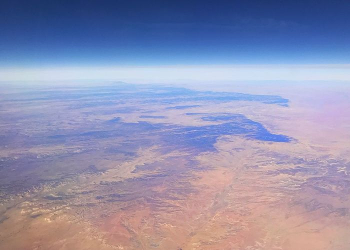 Desert colors. Desert Colors Mountain Drainage Physical Geography Geology Desert Aerial View Nature Beauty In Nature Scenics Tranquil Scene Tranquility Outdoors Landscape Sky