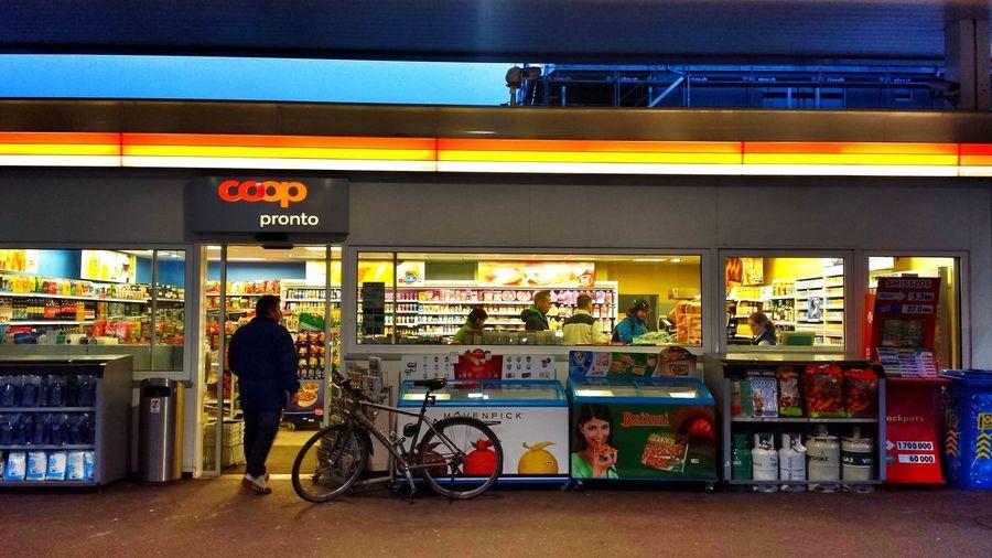 Gas Station Shop Coop Pronto